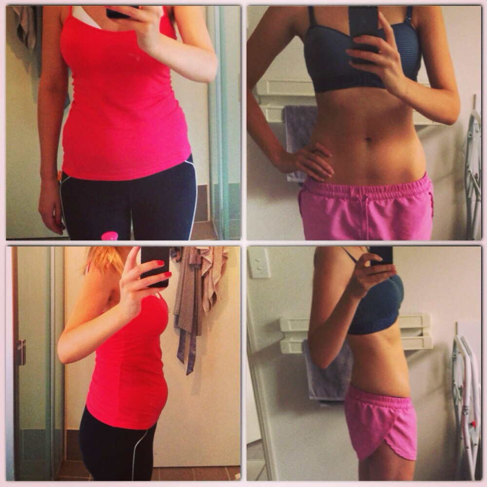 losing baby weight - body after baby