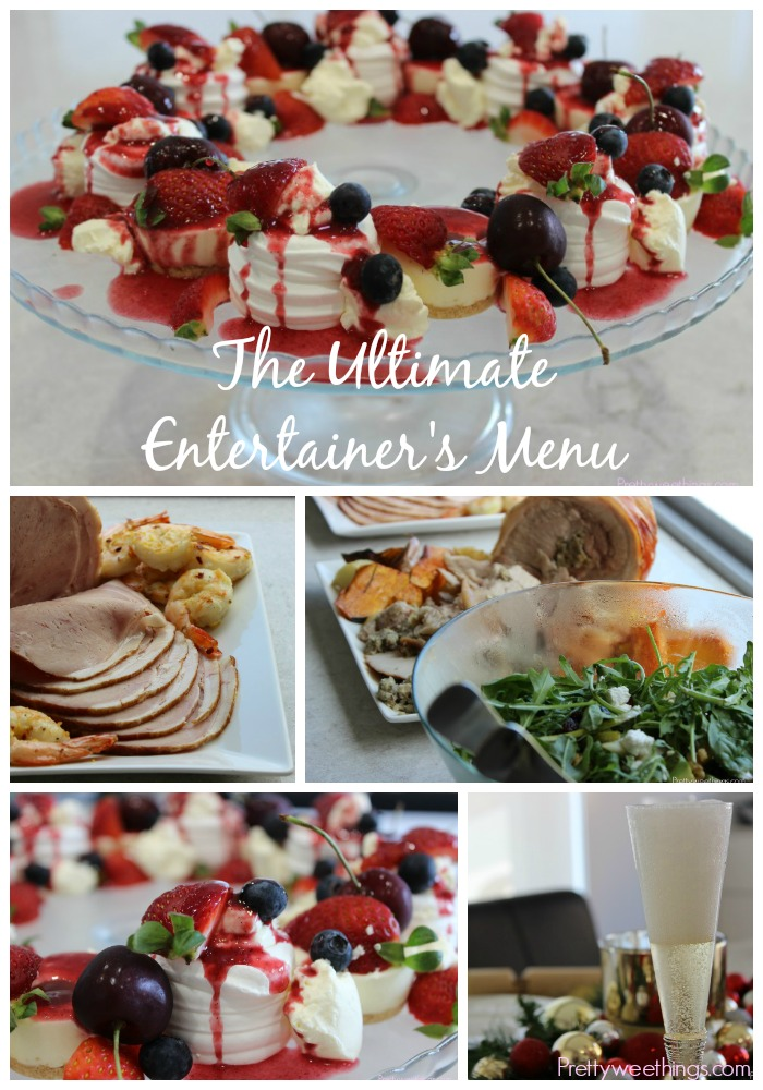 The Ultimate Entertainer's Menu