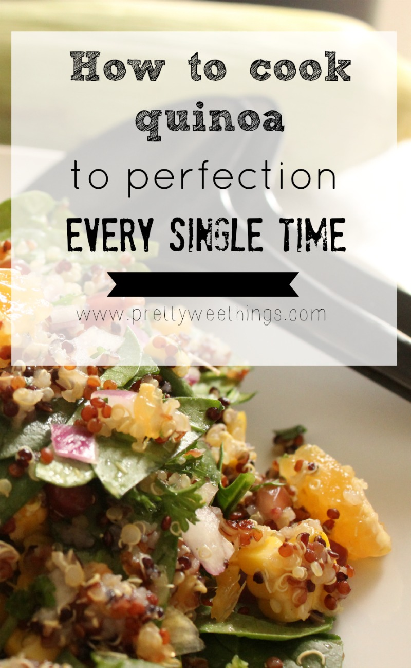 How to cook quinoa to perfection