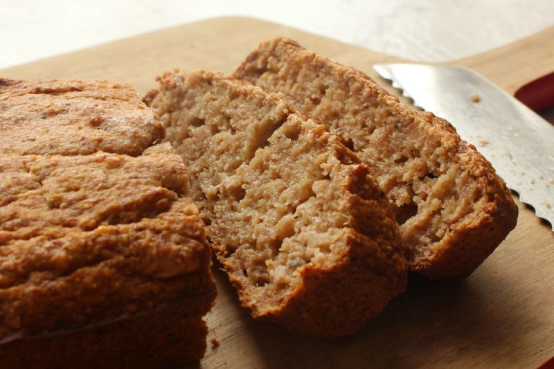 PB2 banana bread 4