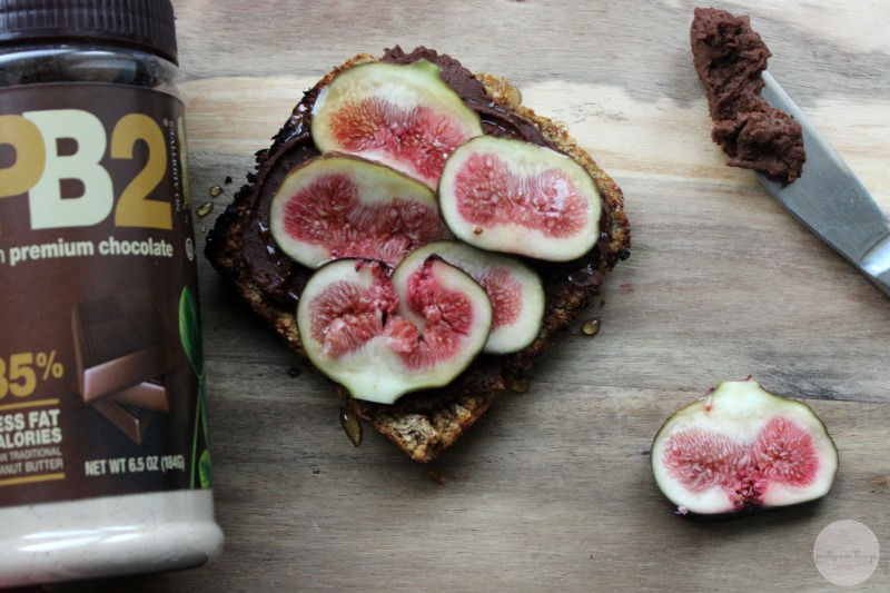 ezekiel with chocolate PB2 and figs 2