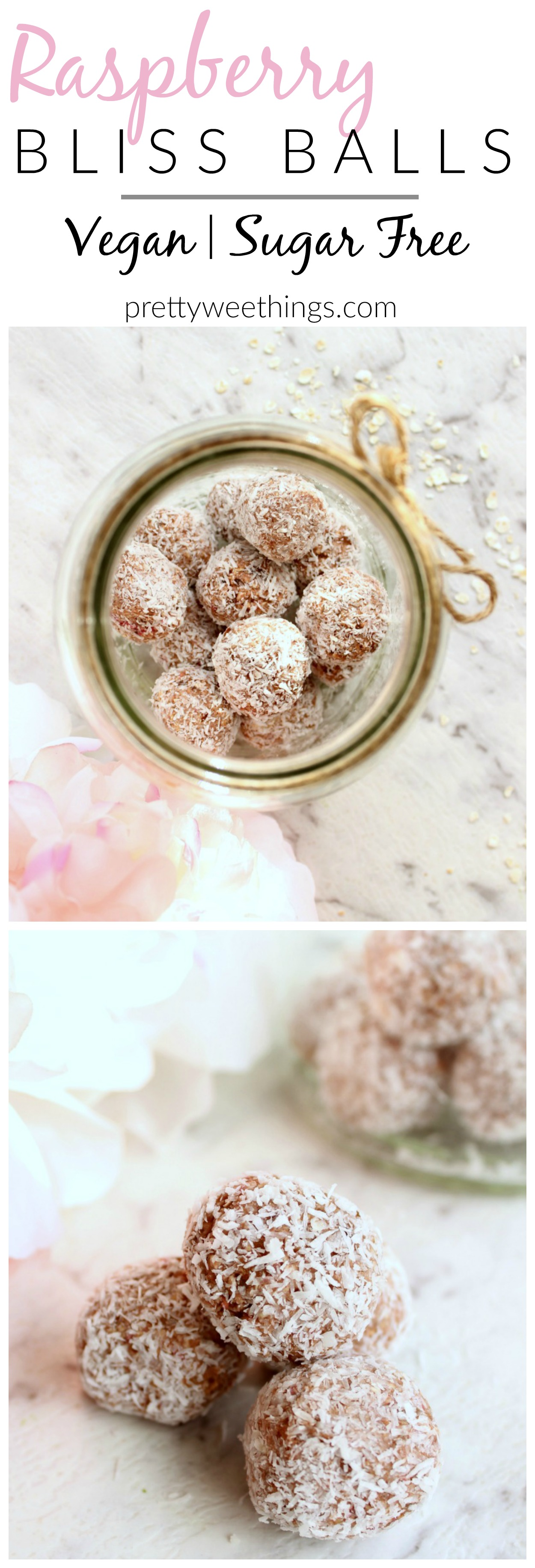 Naturally sweetened and totally nutritious, these raspberry bliss balls make the perfect snack between meals or lunch box addition.