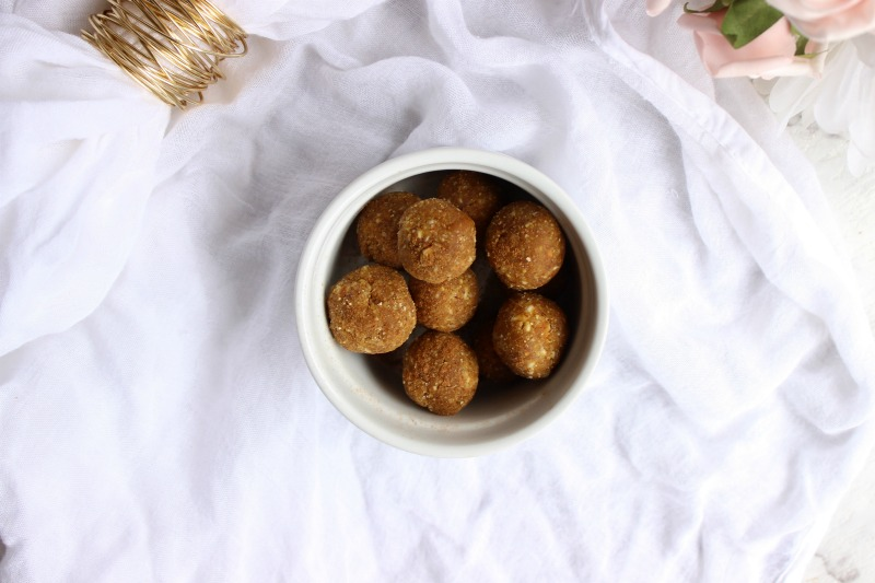 I wanted to create these sugar free pumpkin spice bliss balls as everyone deserves an indulgent treat this holiday season no matter their health issues.