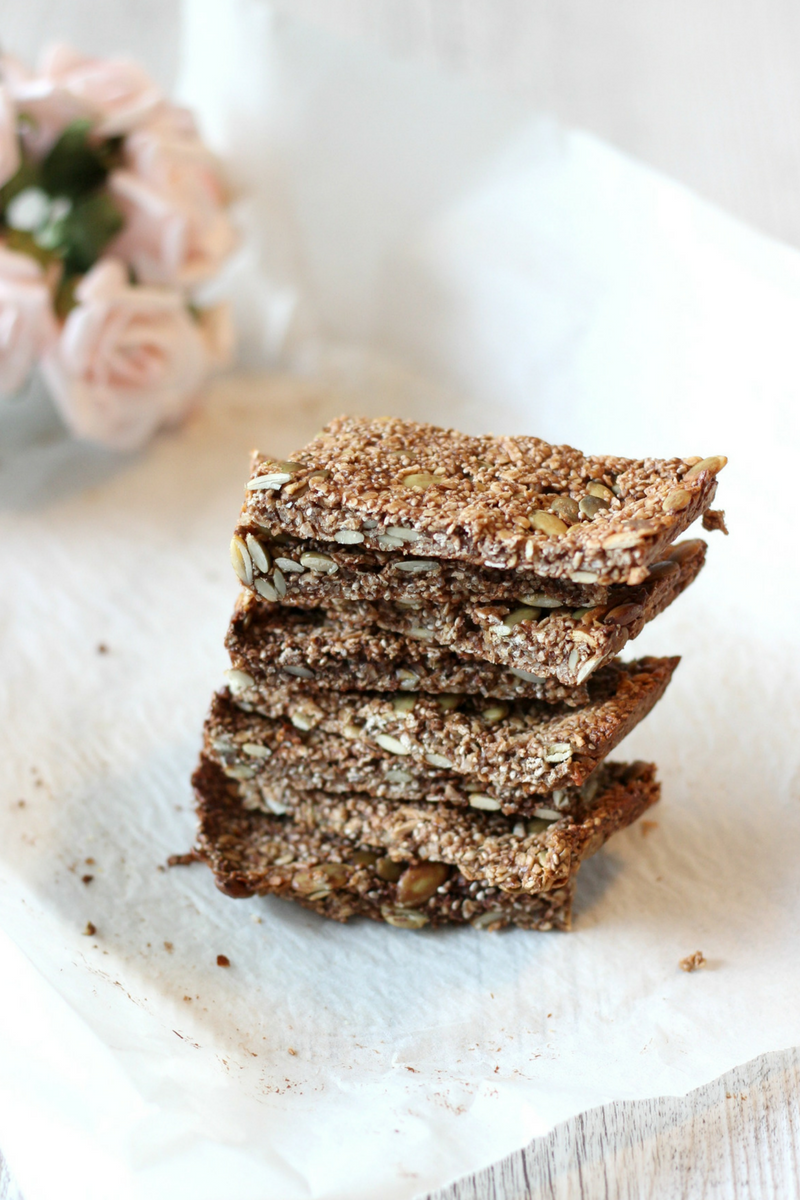 Bliss balls meet muesli bars with a hint of chocolate. YES PLEASE! These nut free cacao bliss bars are lunchbox friendly, dairy free, nut free + sugar free.