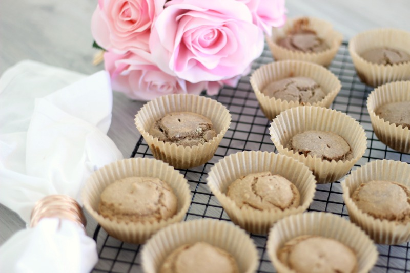 These are the fluffiest healthy vegan cupcakes you will try! You will fall in love with the recipe for these healthy vegan cupcakes because not only are the AMAZINGLY perfect, but they are also allergy friendly. Specifically, they are dairy free, gluten free, egg free, nut free and made using whole food ingredients.