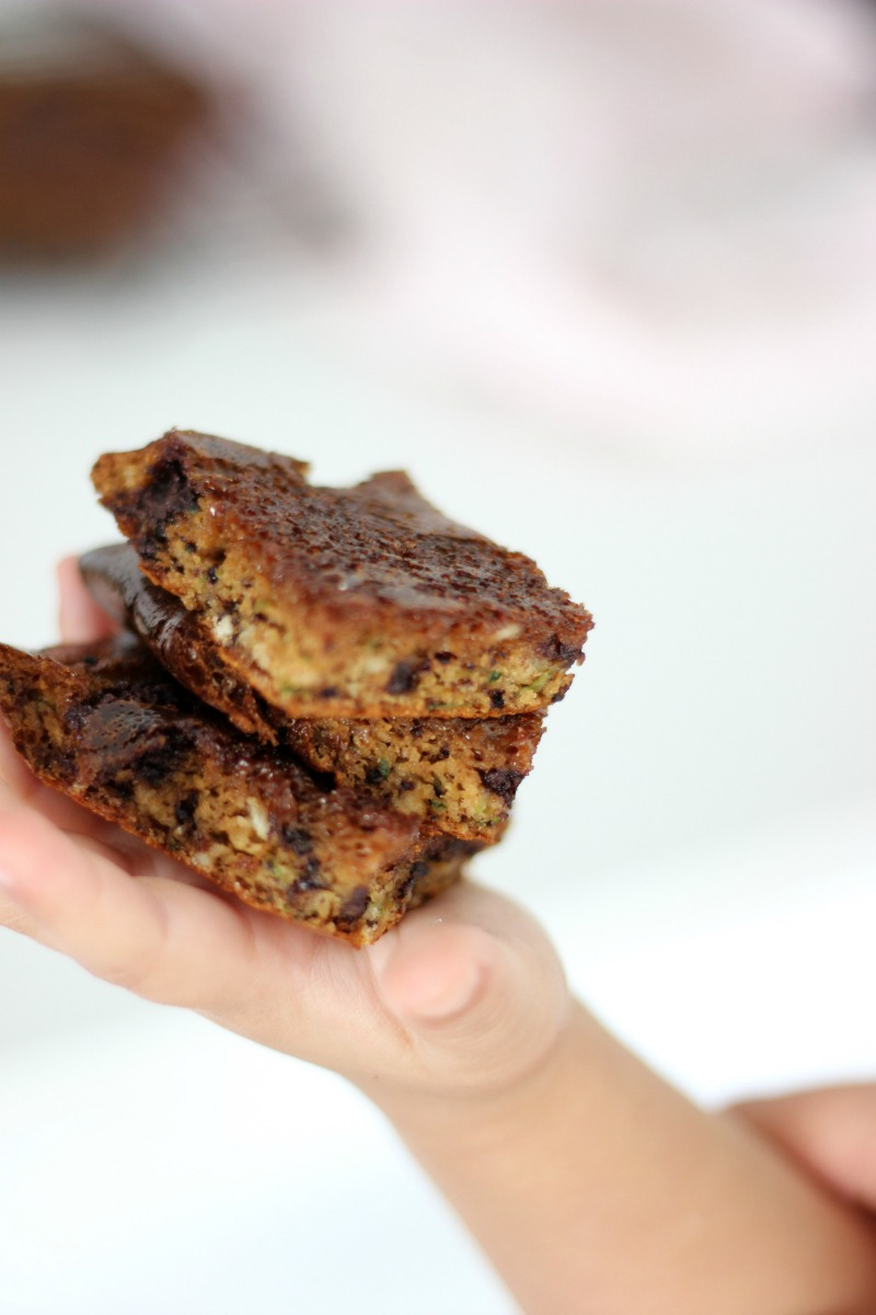 This zucchini brownie is not only nourishing and nutritionally dense, but it's completely 100% kid-approved! That, my friends, is an impressive result. This recipe is also dairy free, gluten free, refined sugar free and nut free!